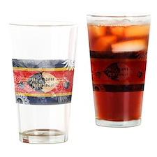 Swaziland Flag Drinking Glass