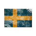 Sweden Flag Rectangle Magnet (10 pack)