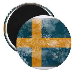 Sweden Flag 2.25