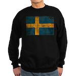 Sweden Flag Sweatshirt (dark)