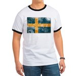 Sweden Flag Ringer T