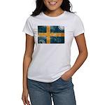Sweden Flag Women's T-Shirt