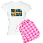 Sweden Flag Women's Light Pajamas