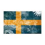 Sweden Flag 38.5 x 24.5 Wall Peel