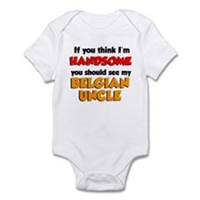 Handsome Belgian Uncle Infant Bodysuit