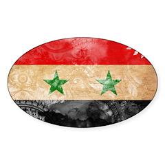 Syria Flag Decal