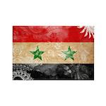Syria Flag Rectangle Magnet