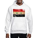 Syria Flag Hooded Sweatshirt