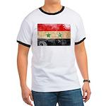 Syria Flag Ringer T