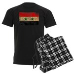 Syria Flag Men's Dark Pajamas