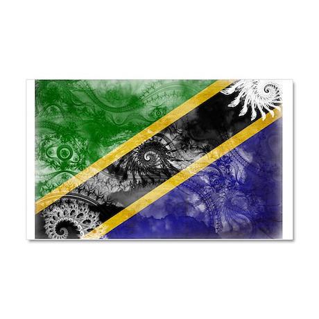 Tanzania Flag Car Magnet 20 x 12