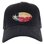 Texas Flag Black Cap