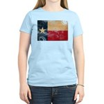 Texas Flag Women's Light T-Shirt