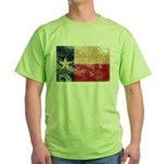 Texas Flag Green T-Shirt