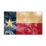 Texas Flag 22x14 Wall Peel