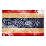 Thailand Flag Sticker (Rectangle 10 pk)