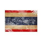 Thailand Flag Rectangle Magnet (10 pack)