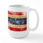 Thailand Flag Large Mug