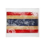 Thailand Flag Throw Blanket