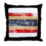 Thailand Flag Throw Pillow