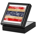 Thailand Flag Keepsake Box