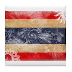 Thailand Flag Tile Coaster