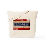 Thailand Flag Tote Bag