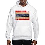 Thailand Flag Hooded Sweatshirt