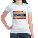 Thailand Flag Jr. Ringer T-Shirt