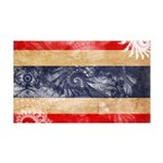 Thailand Flag 38.5 x 24.5 Wall Peel