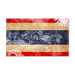 Thailand Flag 22x14 Wall Peel