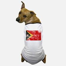 Timor Leste Flag Dog T-Shirt