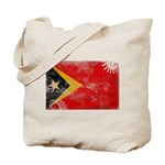 Timor Leste Flag Tote Bag