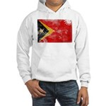 Timor Leste Flag Hooded Sweatshirt