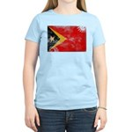 Timor Leste Flag Women's Light T-Shirt