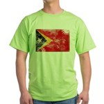 Timor Leste Flag Green T-Shirt