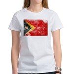 Timor Leste Flag Women's T-Shirt
