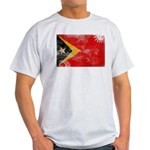 Timor Leste Flag Light T-Shirt