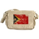 Timor Leste Flag Messenger Bag