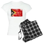 Timor Leste Flag Women's Light Pajamas