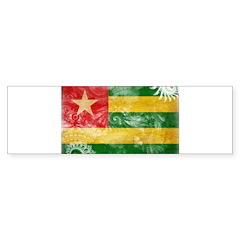 Togo Flag Sticker (Bumper 50 pk)