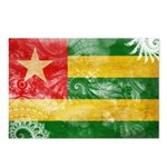 Togo Flag Postcards (Package of 8)
