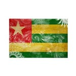 Togo Flag Rectangle Magnet (100 pack)