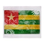 Togo Flag Throw Blanket