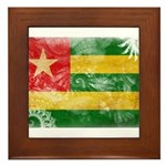 Togo Flag Framed Tile