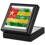 Togo Flag Keepsake Box