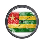 Togo Flag Wall Clock