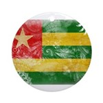 Togo Flag Ornament (Round)