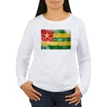 Togo Flag Women's Long Sleeve T-Shirt