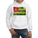 Togo Flag Hooded Sweatshirt